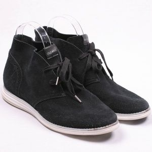Cole Haan Grand OS Suede Leather Chukka Oxford 9
